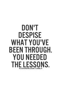 dont despise